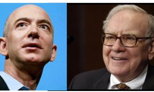 A tale of two annual letters: Bezos of Amazon and Buffett of Berkshire Hathaway.