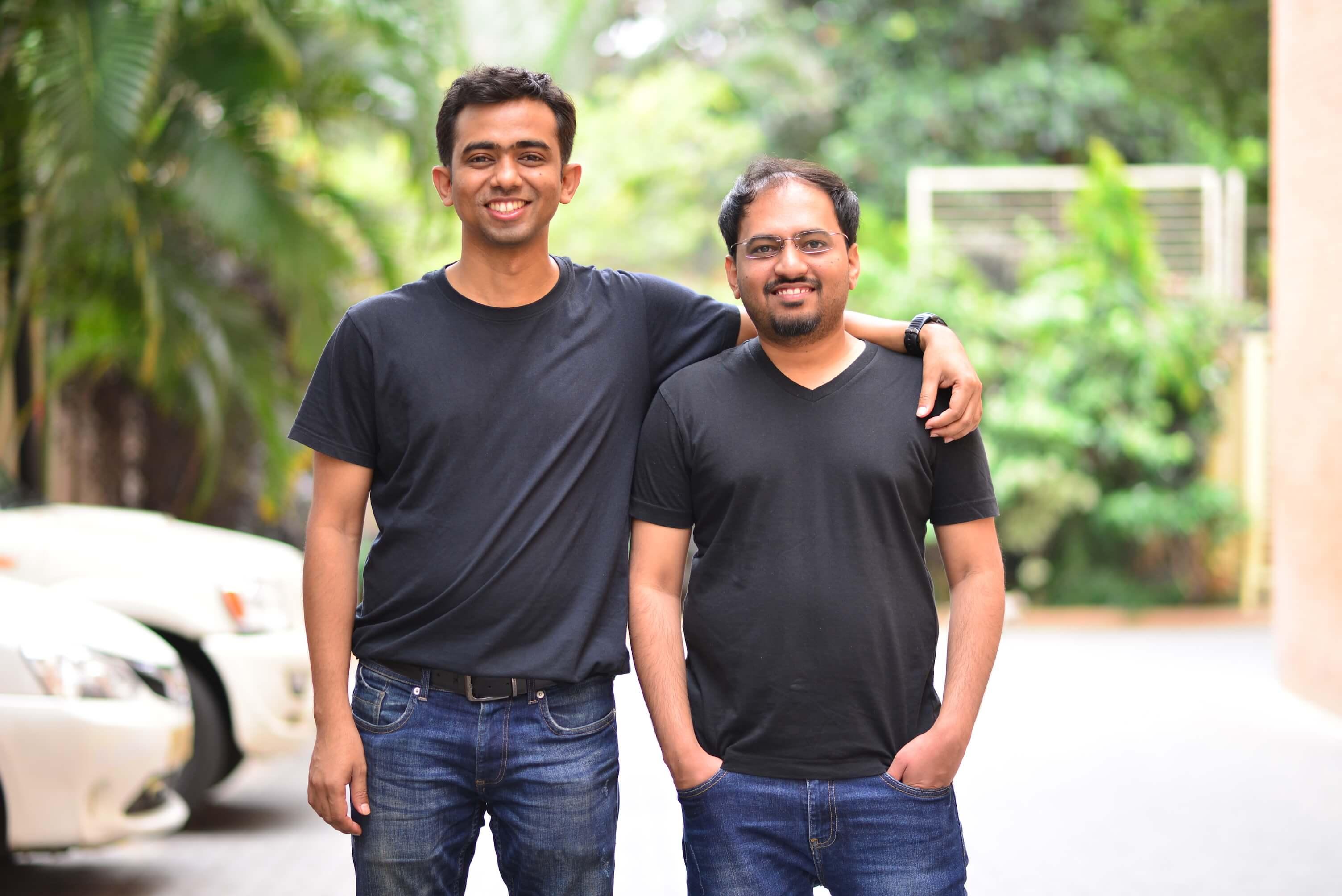 Two co-founders of Recko: Saurya Prakash Sinha and Prashant Borde