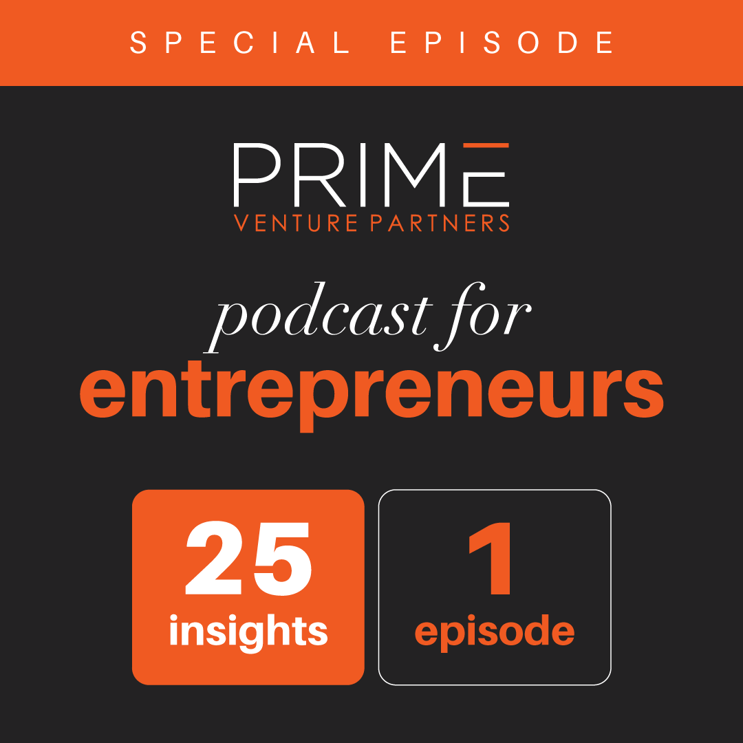 A graphic mentioning special episode and 25 insights, 1 episode